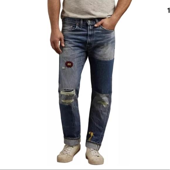 2335e845 Levi's Jeans | Levis Vintage Clothing 1954 501z Unisex Grandstand ...